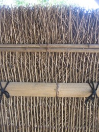 custom bamboo fence